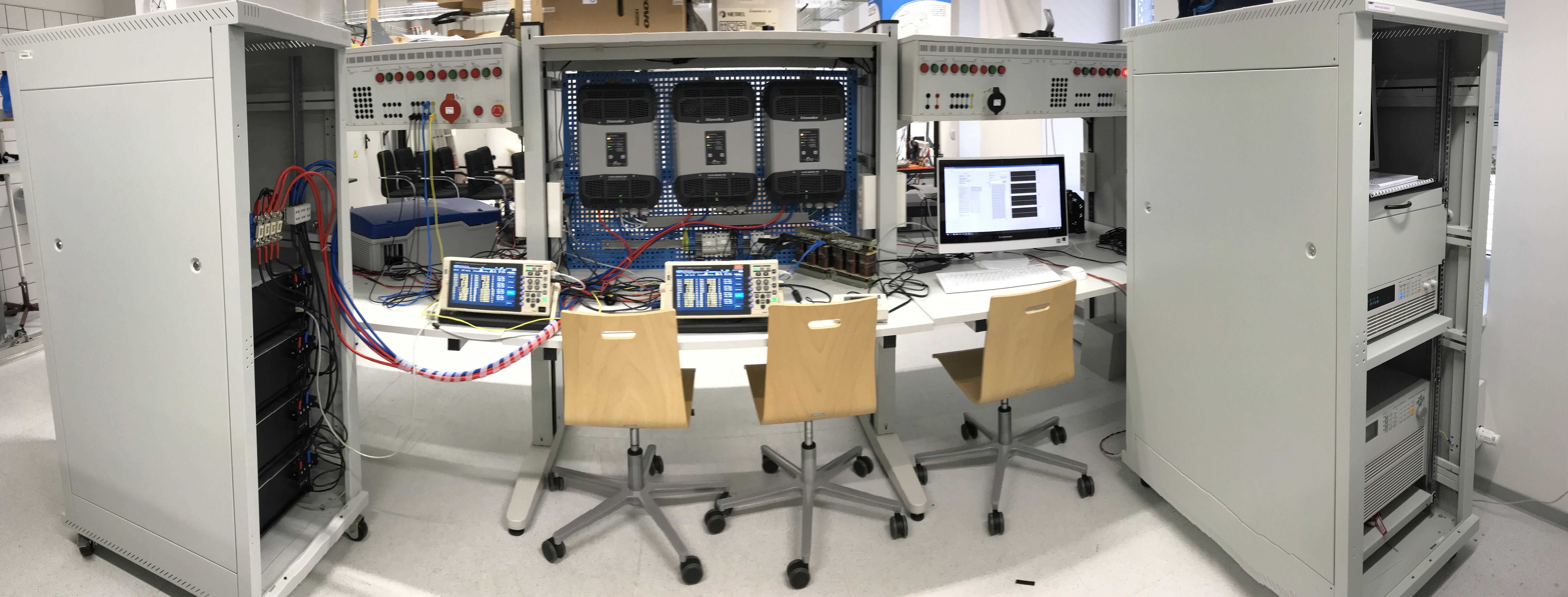 Pracovní skupina RESLAB - Testovací pracoviště pro testy výkonových invertorů