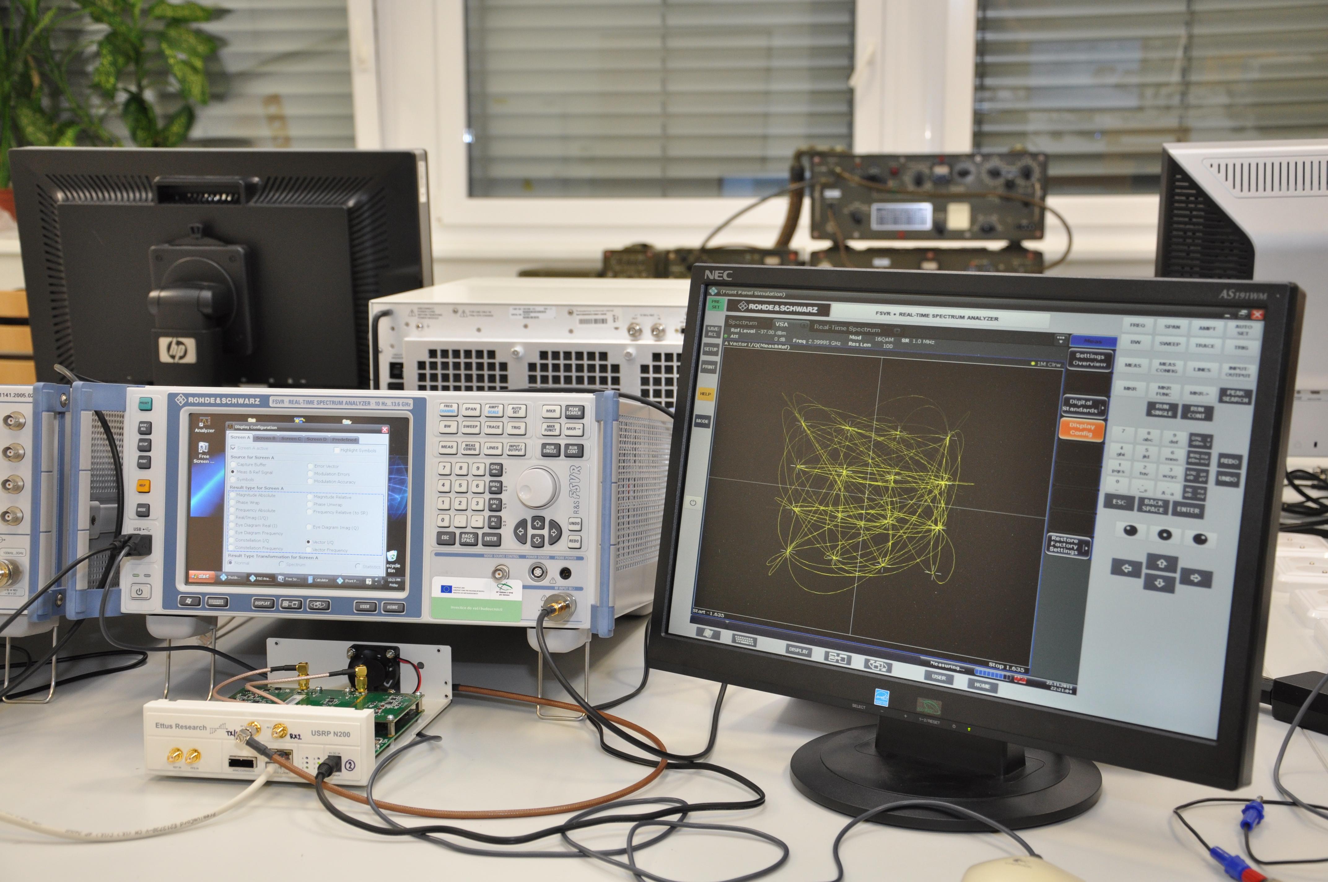 Výzkumná skupina koexistence bezdrátových služeb - Digitální komunikační systémy