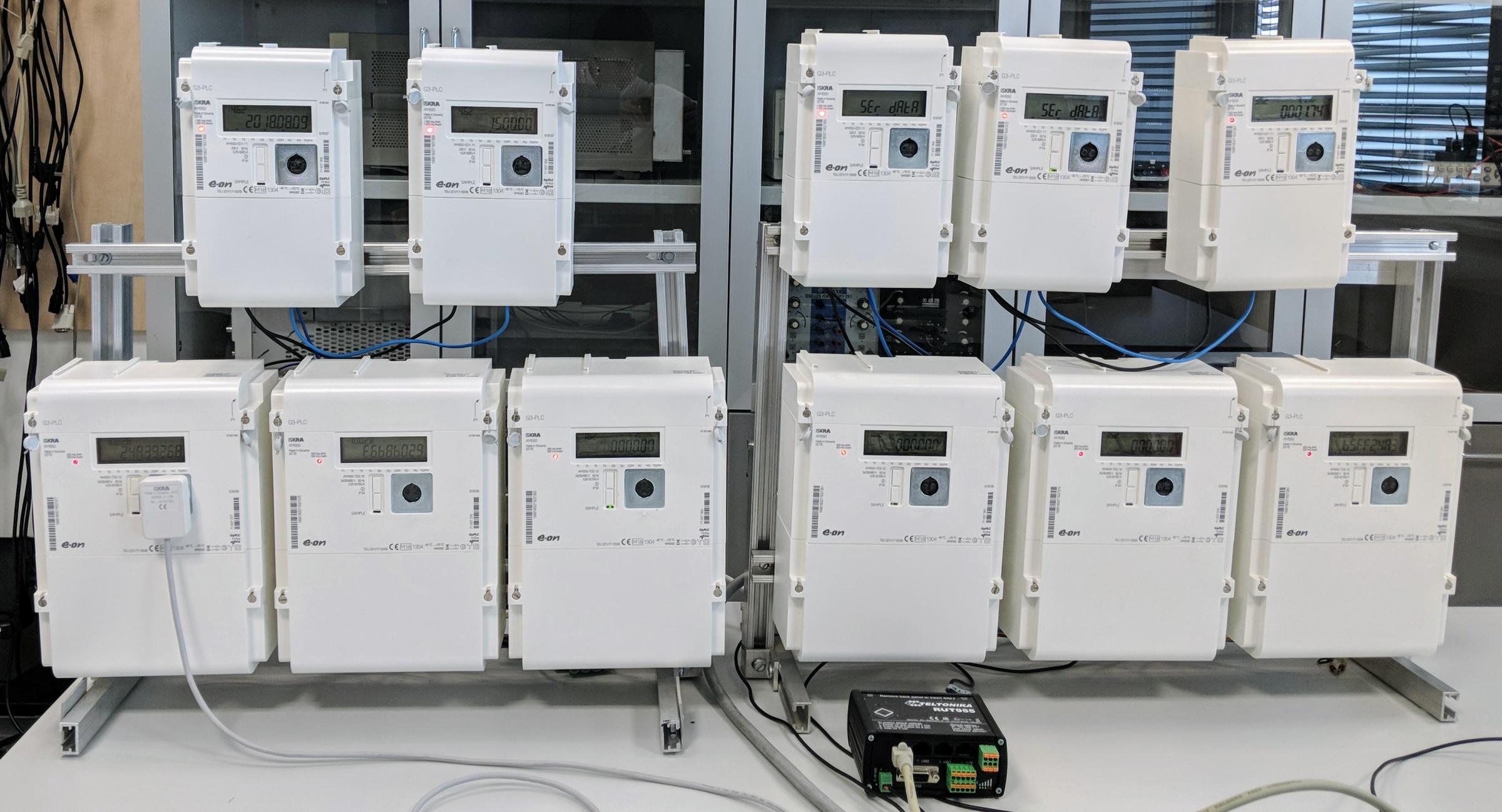 Smart Grids Group - Testovací polygon pro Smart Metering