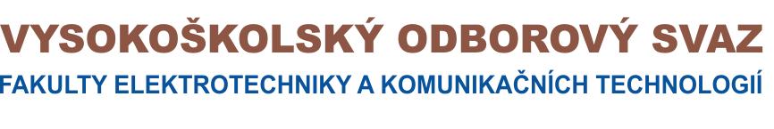 Vysokoškolský odborový svaz na FEKT VUT v Brně